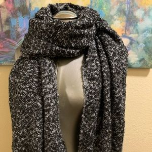 Merona Accessories - Black and Grey Glitter Scarf
